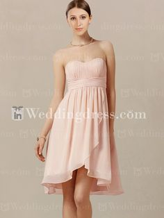 0c775f0c8a66 einfache Brautjungfer Kleider Pink Brautjungfer Kleider, Brautjungfern, Trägerloses  Kleid, Sommer Brautjungferkleider, Pinkes Kleid