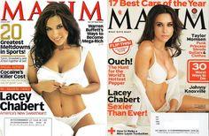 LACEY CHABERT * MAXIM MAGAZINE ISSUE JANUARY 2007 + NOVEMBER 20013