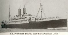 Image result for immigrant ship prinzess irene