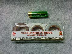 Official Club Nintendo Japan Super Mario Decoration Tape #Nintendo