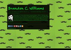 Brandon C. Williams' page on about.me – http://about.me/BrandonCWilliams