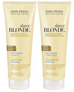 Great products for blonde hair :) Sheer Blonde by John Frieda