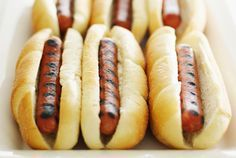 Use this recipe to make delicious homemade hot dogs. Hot dogs are nothing more than ground meat with seasonings. They're easy to make at home.