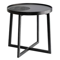BY WIRTH Tray Side Table Black Designstuff offers the latest range of Scandinavian designed tray side tables in black by By Wirth, Denmark.