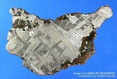 The Seymchan meteorite was originally discovered near Magadan in Russia in 1967