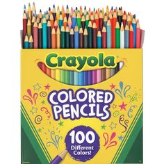 Colored Pencils Details About Crayola 100 Color Set Count Types Of Pencils, Minnie Mouse Toys, Crayola Colored Pencils, Artist Pencils, Barbie, Nails For Kids, Back To School Supplies, Coloring Pages For Kids, Coloring Books