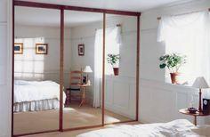 Portes de placards coulissantes, pliantes doubles et pivotantes | Mirror Works