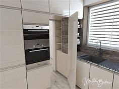 Funkčná elegancia - Dizajn kuchyne s obývačkou - Kristína Bedečová Living Room Kitchen, Wall Oven, French Door Refrigerator, Scandinavian Style, Luster, French Doors, Kitchen Appliances, Home Decor, Elegant