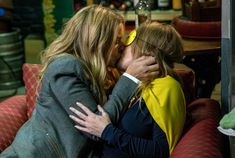 Emmerdale cast members Michelle Hardwick and Emma Atkins reveal all on Vanessa Woodfield and Charity Dingle's future. Emmerdale Spoilers, Emmerdale Actors, Odd Couples, Movie Couples, Michelle Hardwick, Emma Atkins, Charley Webb, Soap News, Uk Tv