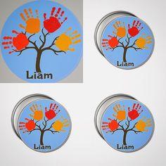 #personalized #babyprints #actualprints #inklesswipekits #customized #keepsakes #jewelry #round #handprint #keepsake #tin #happy #lifelong #family #memories #cherishthem #theygrowupsofast #love #dad In hospitals now! www.mybabyprints.com