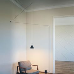 """""""Modern lighting for your office or home."""" The STRING LIGHTS suspension lamp provide diffused light. There are two mounting options, a floor base and a ceiling/ wall mount. There are also two options for the length of cord, 39"""" and 72"""". FLOS was founded in 1962 in Merano, Italy, with the aim to develop a line of new lighting concepts. From the very outset, the distinguishing feature of the company has been its approach to lamp design and production in the highest quality. FLOS products are…"""