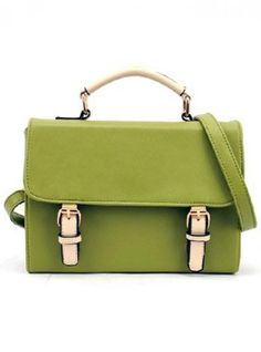 cae244562d5b  Udobuy Green Messenger Totes Bag With Bow Green Bag