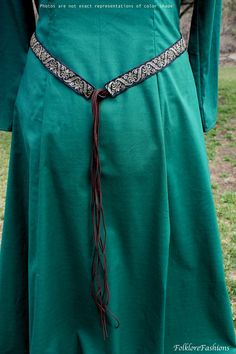 Medieval Belt Renaissance Girdle, SCA LARP Fantasy, Women's Costume Accessores, Handmade Celtic Belt, Made to Order Your Size Color Options