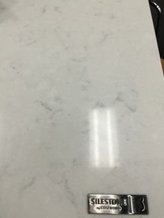 Quartz counter that looks like marble