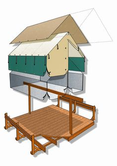 Tent Cabins - Time to Build