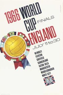 World Cup Poster 1966 England