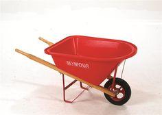 Child's Wheelbarrow And Garden Tool Set
