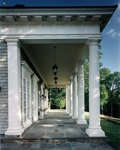 allan greenberg architect + porch