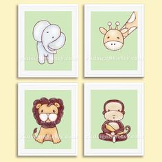 Nursery art print baby boy nursery decor kids wall by rkdsign88, $45.00