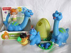 Fisher Price Little People Lil Dino, Dinosaur, Dinoland Play Set, Brontosaurus w/ EXTRAS Little People http://www.amazon.com/dp/B010TTXAF8/ref=cm_sw_r_pi_dp_aYzLvb1FTJCY0