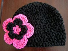 Crochet Flowers for Hats Pattern | Recent Photos The Commons Getty Collection Galleries World Map App ...
