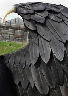 Large Maleficent cosplay wings for Adult, animal friendly black fairy custom-made costume wings Hand made by Tentacle Studio Maleficent Wings, Maleficent Cosplay, Maleficent Halloween, Malificent Costume Diy, Halloween 2016, Diy Halloween Costumes, Halloween Cosplay, Costume Ideas, Cosplay Wings