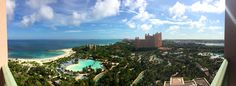 View from our room -The Cove - Dolphin suite - Atlantis - Panoramic view - #Island view + Ocean view + Resort view + Dolphin Cay + Harbor view = #AtlantisDoneRight - Bahamas - Paradise Island