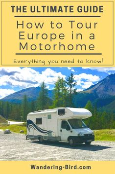 How do you wild camp in a Motorhome in Europe? How to you find camping spots in Europe- fo. Road Trip On A Budget, Road Trip Packing, Road Trip Essentials, Road Trip Hacks, Road Trips, Camping Hacks, Camping Glamping, Camping Europe, Road Trip Europe