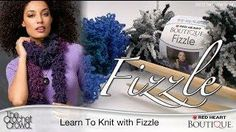 Learn How to Knit Boutique Fizzle Scarves with Mikey from @The Crochet Crowd