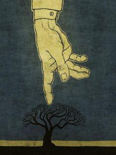 toni demuro | Toni Demuro, 1974 ~ Surreal memory of the Trees | Tutt'Art@ | Pittura ...