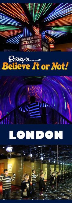 While we were in London recently we reviewed Ripley's Believe it or Not.  It was a great family day out with the children.  They have an amazing Mirror Maze, Black Hole, Interactive Exhibits and unusual and funny items.  Just in Piccadilly Circus, Ripley's London is a fab place to take the kids in Central London.