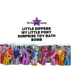 Hey, I found this really awesome Etsy listing at https://www.etsy.com/listing/252578038/my-little-pony-surprise-bath-bomb-little
