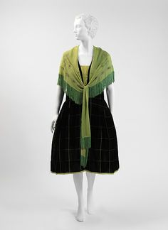 Evening ensemble (image 1) | House of Poiret | French | fall/winter 1928-29 | silk | Metropolitan Museum of Art | Accession Number: C.I.50.84.2a, b