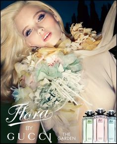Flora by Gucci - Love the 60s Hair and Makeup - already planning what to do for Zain's wedding in June =)