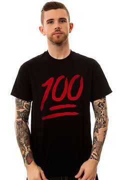 The One Hundred Tee in Black by KLP use rep code: OLIVE for 20% off!