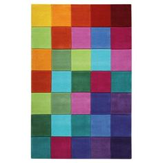 Smart Square vloerkleed 110 x 170 cm - Esprit Square Rugs, Modern Rugs, Carpet, Colours, Abstract, Pattern, Design, Kids Smart, Home Decor