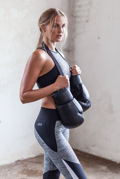 Sports tank and leggings | Gina Tricot Active Sports | www.ginatricot.com | #ginatricot