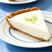 Reduced-Fat Icebox Key Lime Pie Recipe at Cooking.com