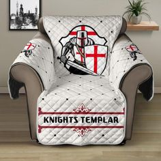 Sofa Protector, Knights Templar, Holiday Festival, Temples, Keep It Cleaner, Stitch Patterns, Armchair, Cozy, Pets