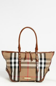 Burberry 'House Check – Small' Tote available at #Nordstrom