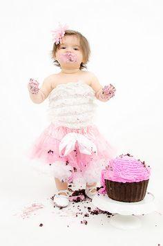 One year old cake smash