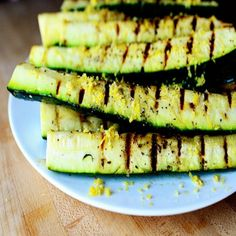 Grilled Zucchini with Yummy Lemon Salt, Prep Time: 30 minutes, Cooking ...