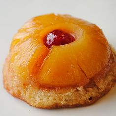 pineapple upside down cupcakes.  Memories of being a little girl and my mom making upside down cake.