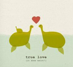 True love.  It does exist!