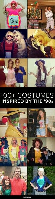 Costumes inspired by the 90's