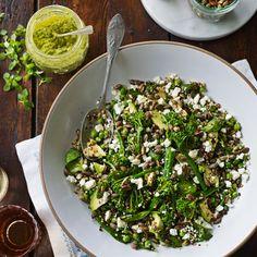 Quinoa met groenten en pistachepesto recept - Jamie magazine