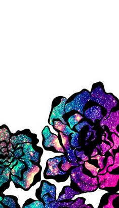 Galaxy flowers wallpaper I created for the app CocoPPa!