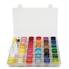 Darice® Embroidery Floss Assorted Ombre Colors 24 pieces