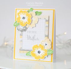 Good morning! In the UK today is Mother's Day and so I'm sharing a couple of cards I created for both mum and mum-in-law. I used the gorgeous Simon Says Stamp March card kit and some sentiment sta...