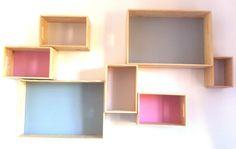 DIY : Création d'une étagère design sur mesure pour la chambre de ma baby girl !